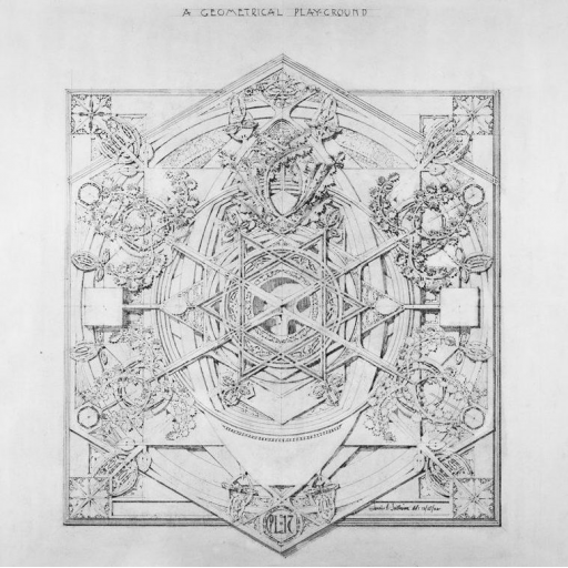 Visual Arts Drawing: System Of Architectural Ornament, A